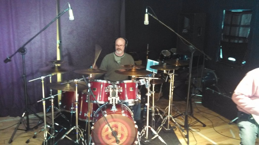 Darin Brannon at Circuline rehearsal - February 22nd, 2014