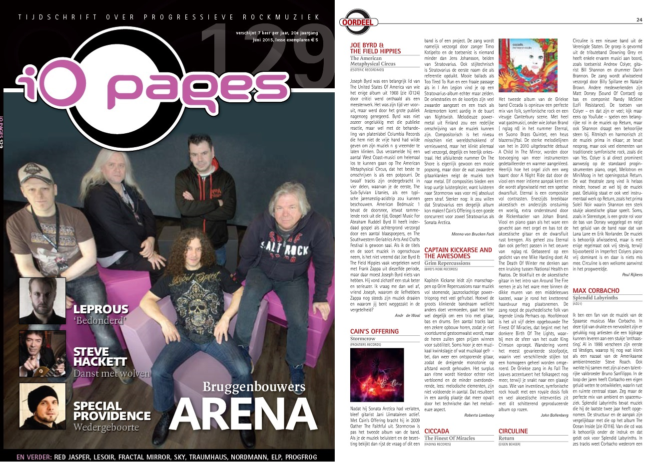 iO Pages (Netherlands) Features Return Review | Circuline