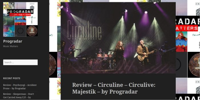 Prog Radar Gives Stellar Review of CircuLive::Majestik
