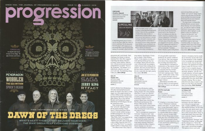 Progression Magazine Gives 4-Star Review to CircuLive::Majestik
