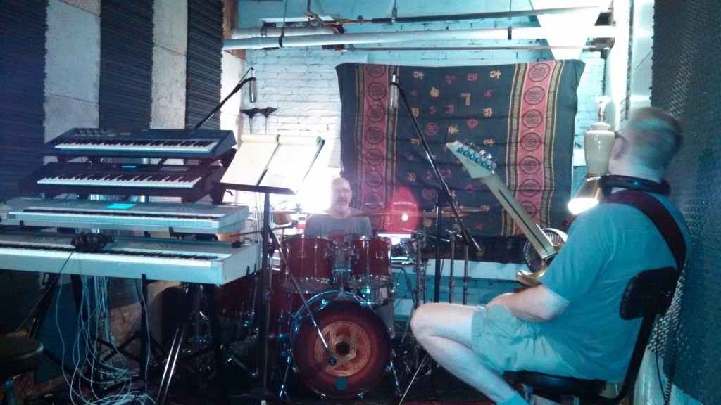 """Circuline in new writing space - """"The Cave"""" - August 2014 - """"After"""" photo"""