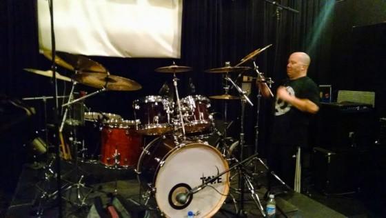 Drummer Ornan McLean (Elephants of Scotland)