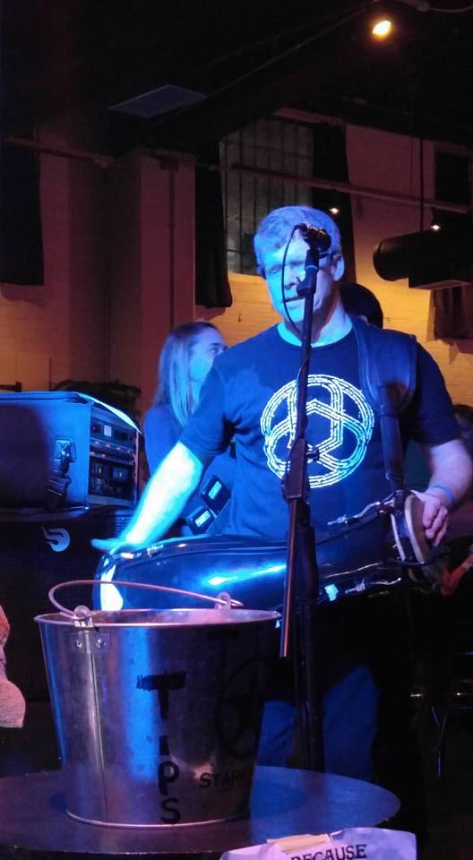 Superfan Michael Gauvreau on a live gig