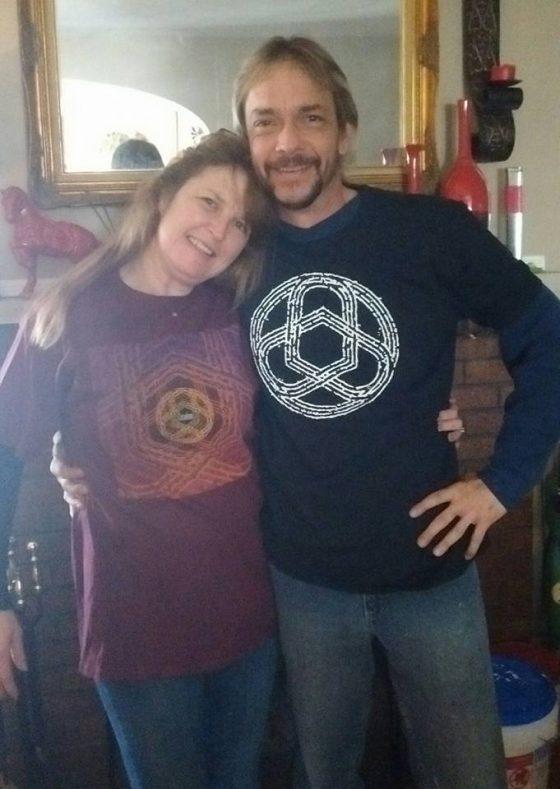 St. Louis superfans Cheryl Cleland and Ron Matthews