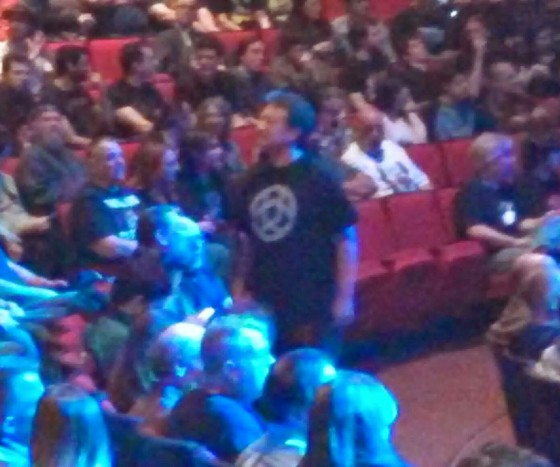 Circuline fan spotted at Steven Wilson concert - The Egg, Albany, New York