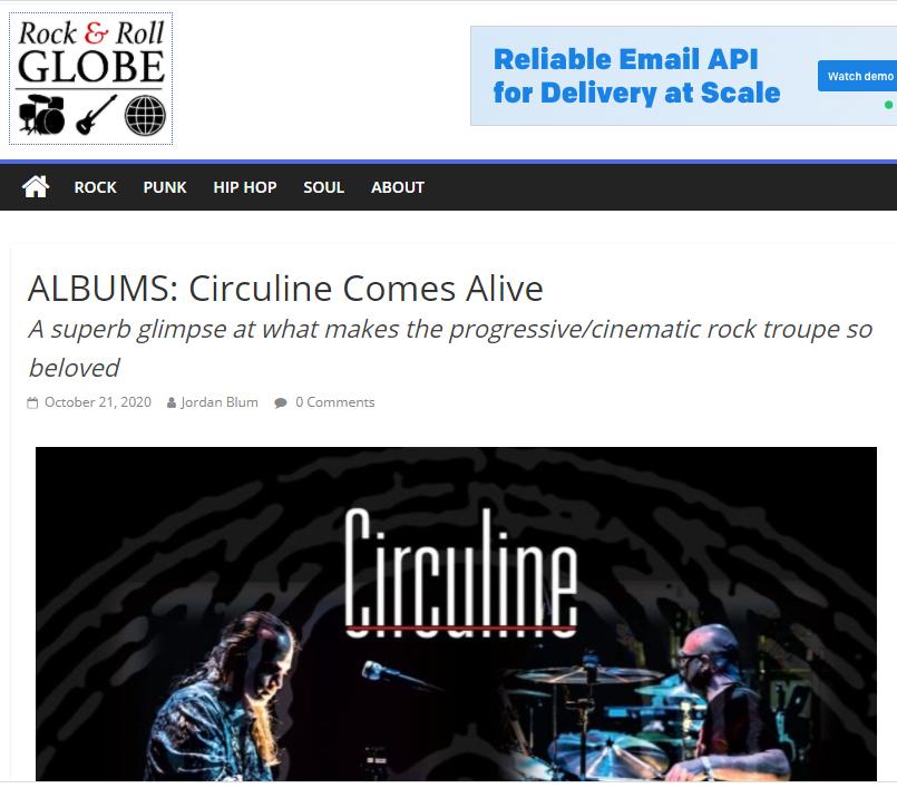 "Circuline, CircuLive, CircuLive::NewView, Rock & Roll Globe, Jordan Blum, Andrew Colyer, Darin Brannon, Natalie Brown, William ""Billy"" Spillane, Alek Darson"