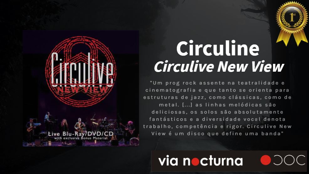 "Via Nocturna, Circuline, CircuLive, CircuLive::NewView, #1 of 2020, #1 Live Release 2020, Andrew Colyer, Darin Brannon, Natalie Brown, William ""Billy"" Spillane, Alek Darson"