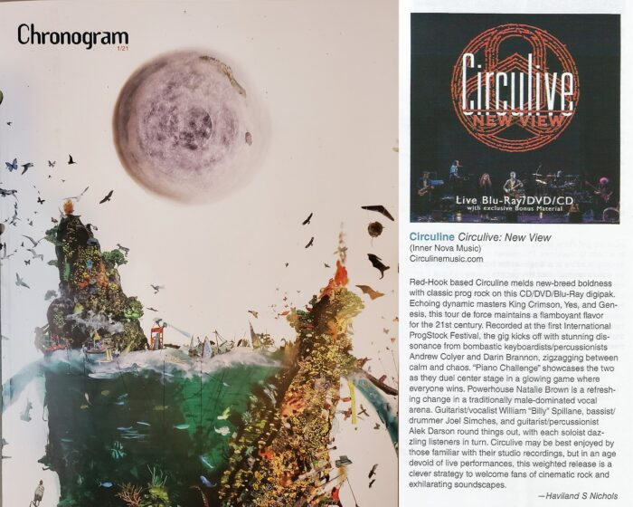 "Circuline, Chronogram, Chronogram Magazine, CircuLive, NewView,  CircuLive::NewView, CircuLive NewView, Andrew Colyer, Darin Brannon, Natalie Brown, William ""Billy"" Spillane, Alek Darson, Circuline Reviews"