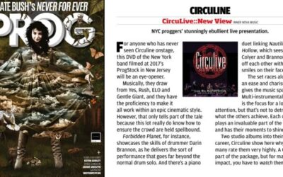 "Excellent Review in PROG Magazine Issue 114 for ""CircuLive::NewView"""