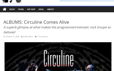 "Rock & Roll Globe gives ""CircuLive::NewView"" 4.5 Star Review (out of 5 stars)"